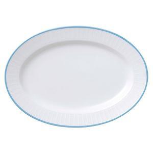 (業務用・楕円皿)スカイライン109スタック16吋プラター(入数:5)
