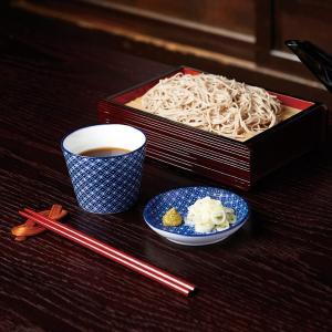 (業務用・そば千代口)古青藍 蕎麦猪口 藍七宝(入数:5)|sarara-tt|02