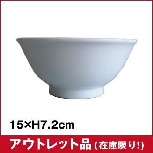 【アウトレット】白中華 4.8反碗|sarara-tt
