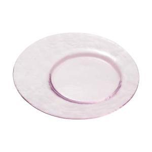 (業務用・丸皿)オービット・カラー カフェトレー(ピンク)(入数:3)