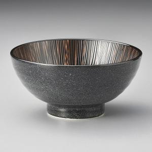 (業務用・20cm)黒十草6.5寸丼[78228-058](入数:5)|sarara-tt