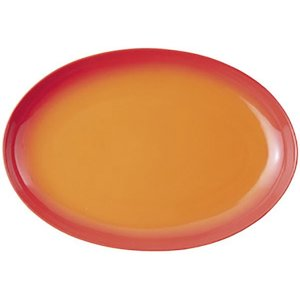 (業務用・楕円皿)COLORE(コローレ) オレンジ41cmオーバルプラター[64805-137](...