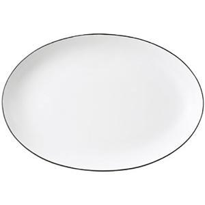 (業務用・楕円皿)COLORE(コローレ) ホワイト41cmオーバルプラター[64845-137](...