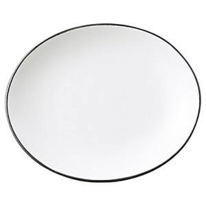 (業務用・楕円皿)COLORE(コローレ) ホワイトオーバルプレート(S)[64851-137](入数:5) sarara-tt