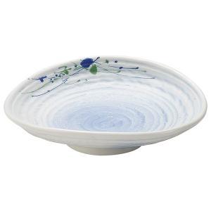 (業務用・楕円皿)銀彩織部流し 楕円皿[49261-147](入数:5)
