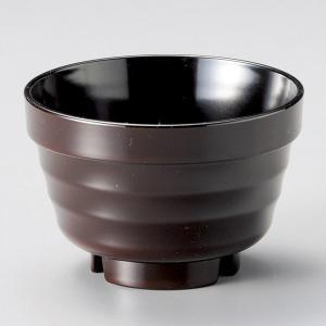 (業務用・汁椀)[TA]重ね椀(小) 新溜内黒[81702-808](入数:5) sarara-tt