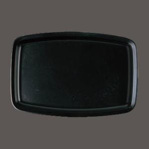 (業務用・長角)胴張トレーブラック(入数:5)|sarara-tt