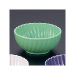 (業務用・珍味)菊鉢(深)(樹脂製) グリーン(入数:5) sarara-tt