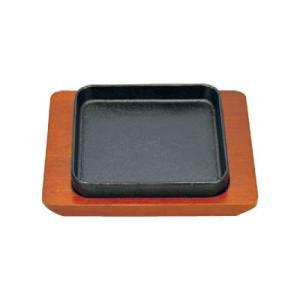 【入数:5】  ●サイズ(cm): 鉄皿 15×15×2.2  (シリーズコード:WI29P1017...