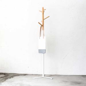 コート掛け 玄関収納 スリム 省スペース [b2c ポールハンガー]|sarasa-designstore