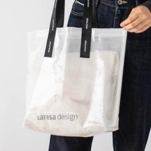 トートバッグ エコバッグ レディース メンズ[b2c レイヤード バッグ ロゴ]|sarasa-designstore