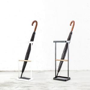 傘立て モノトーン 玄関収納 スリム コンパクト シンプル[b2c アンブレラスタンド ウッドバータイプ]|sarasa-designstore