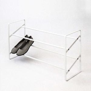 靴 収納 スタッキング 省スペース[b2c シューズラック]|sarasa-designstore