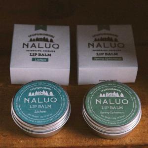 無添加 オーガニック 天然 ナチュラル ミニサイズ ギフト プレゼント[メール便可|NALUQ ナルーク リップバーム]|sarasa-designstore