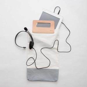 キャンバス 薄手 ヌメ革 サブバッグ エコバッグ[メール便可|b2c リルティングキャンバス トートバッグ スクエア]|sarasa-designstore