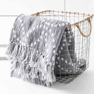 ひざ掛け マフラー 大判 薄手 洗える コットン 冷房対策 [b2c スローケット サークル]|sarasa-designstore