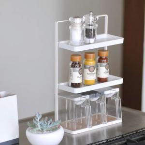 調味料ラック スパイスラック/タワー(スパイスコンテナ別売り)|sarasa-designstore