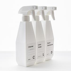 詰め替え スプレーボトル 泡スプレー トリガー/b2c ムーススプレーボトル(500ml)