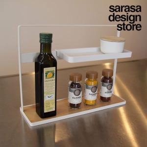 コーナーラック キッチンラック スパイスラック|sarasa-designstore
