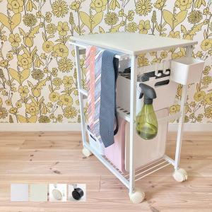 キャスター付き オープンラック ラック 白 ホワイト [nsp キッチンワゴン(ホワイト天板) ]|sarasa-designstore