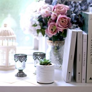 瓶 フラワーベース セメント [TUNN-C プランター セメント サイズ S ロー(マーブルホワイト)]|sarasa-designstore