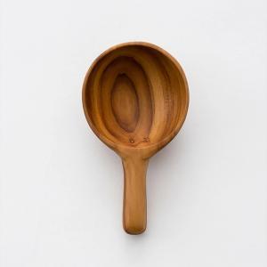 木 木製 ウッド 天然 カトラリー 食器[メール便可 b2c チークミニスプーンラウンド] sarasa-designstore
