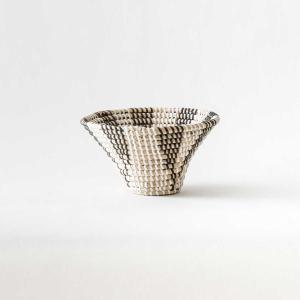 かご ラタン ケット 収納かご [b2c シーグラス ボウル トランペット S]|sarasa-designstore