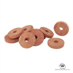 天然素材100%[Redecker<レデッカー>防虫ハンガーウッドディスク/RED CEDAR CLOTHES HANGER DISCS]|sarasa-designstore