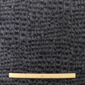 ジャガードデニムストレッチ(KHTYK835BK)黒グレー系|sarasa-nuno