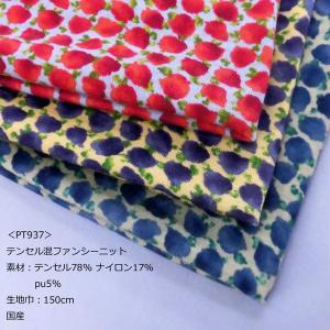 テンセル混ファンシーニット(PT937) 生地巾150cm 数量1(50cm)400円  国産 sarasa-nuno