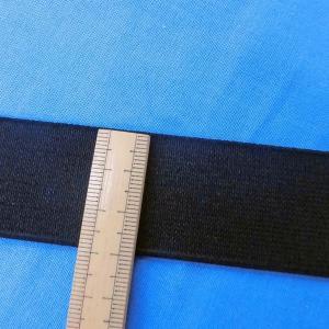 織ゴム(平ゴム)30mm巾  黒  数量1(1m)120円 国産|sarasa-nuno