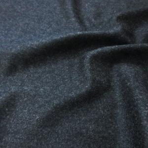 ウール混ニット(NO.8)無地/濃グレー(チャコールグレー)  生地巾120cm  数量1(50cm)330円 国産 sarasa-nuno
