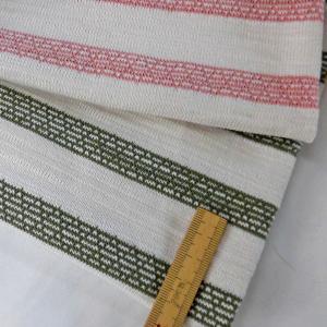 綿天竺ボーダーニット(S4903)生成 生地巾 170cm 数量1(50cm)350円 国産 sarasa-nuno
