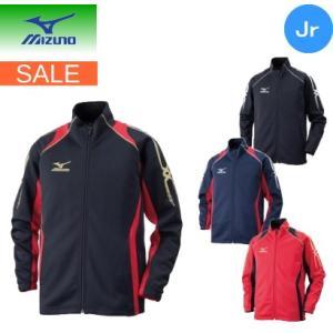 ミズノ mizuno ウォームアップシャツ(ジュニア) 32JC6415OL ネコポス発送で送料無料|sarisa