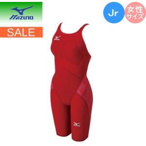 ミズノ mizuno 競泳用GX・SONICIII ST ハーフスーツ (スイム)[ジュニア][レディース] N2MG6201OL ネコポス発送で送料無料|sarisa