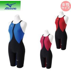ミズノ mizuno 競泳用MX・SONIC02 ハーフスーツ (スイム)[レディース] N2MG8211 ネコポス発送で送料無料|sarisa
