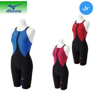 ミズノ mizuno 競泳用MX・SONIC02 ハーフスーツ[ジュニア] N2MG8411 ネコポス発送で送料無料|sarisa
