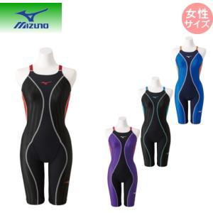 ミズノ mizuno 競泳用FX・SONIC+ハーフスーツ (スイム)[レディース] N2MG9230 ネコポス発送で送料無料|sarisa