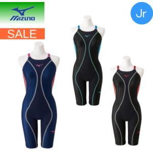 ミズノ mizuno 競泳用FX・SONIC+ハーフスーツ (スイム)[ジュニア] N2MG9430 ネコポス発送で送料無料|sarisa