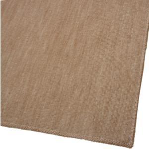 ブラウン色/江戸間2畳/ペットにやさしい国産カーペット「ラティス」【裏面不織布貼:抗菌基布仕様】の写真