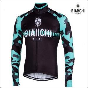 Bianchi MILANO ビアンキミラノ FWジャージ BRENNERO / チェレステ / サイクルウエア 長袖ジャージ|Mサイズ|sas-ad