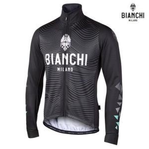 Bianchi MILANO ビアンキミラノ FWジャケット LAGUNDO / ブラック / サイクルウエア/4000|Mサイズ|sas-ad