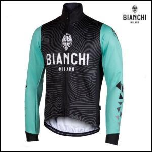 Bianchi MILANO ビアンキミラノ FWジャケット LAGUNDO / チェレステ / サイクルウエア/4300|Mサイズ|sas-ad