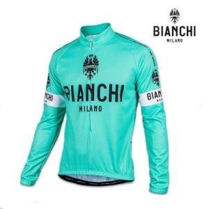 Bianchi MILANO ビアンキミラノ FWジャージ LEGGENDA / チェレステ / サイクルウエア 長袖ジャージ|Lサイズ|sas-ad