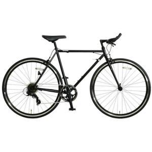 OSSO (オッソ)18R310BH-CR クロモリ クロスバイク ブルホーン (マットブラック) sas-ad