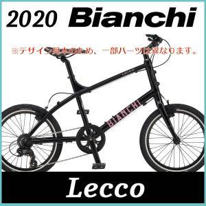 ビアンキ Bianchi ミニベロ レッコ(ブラック/ピンク) Bianchi  LECCO 202...