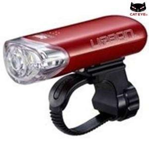 キャットアイ/CATEYE HL-EL145 URBAN スーパーホワイトヘッドライト / レッド|sas-ad