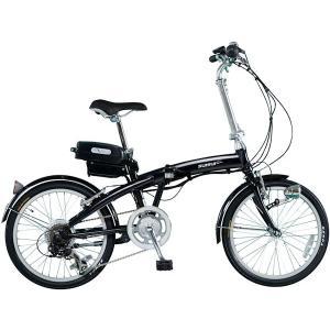 ミムゴ スイスイ 20インチ電動アシスト折り畳み自転車 6段変速 (ブラック) BM-A30BK MIMUGO SUISUI フォールディングバイク  365 【送料無料・メーカー直送・代|sas-ad