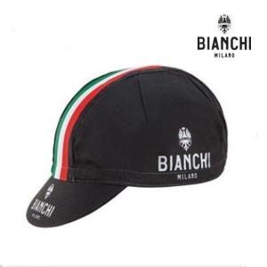 Bianchi MILANO ビアンキミラノ サマーキャップ Neon Summer Cotton Caps / 4000 /ブラックイタリア / サイクルウエア CAP|sas-ad