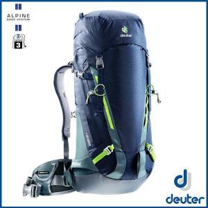 ドイター ガイド 35+ (ネイビー/グレー) deuter Guide 35 + バックパック リュック D3361117-3400 sas-ad
